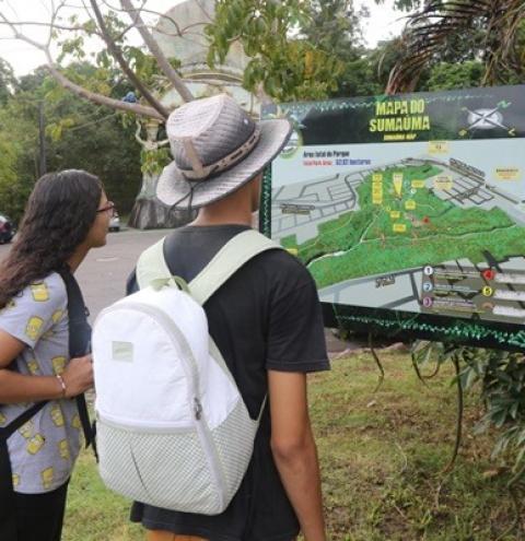 Parque Estadual Sumaúma é opção gratuita de lazer nas férias