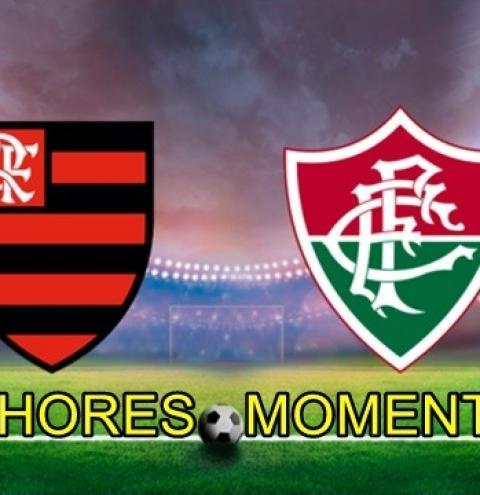 Assista os melhores momentos de Fluminense 1 x 2 Flamengo