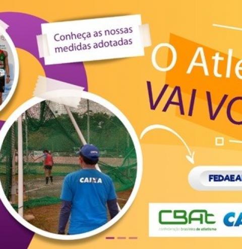 Vila Olímpica recebe Campeonato Amazonense Caixa de Atletismo SUB-18 e SUB-23 neste final de semana